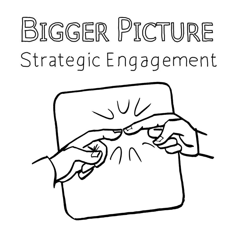 Supporting Partners, Bigger Picture, logo