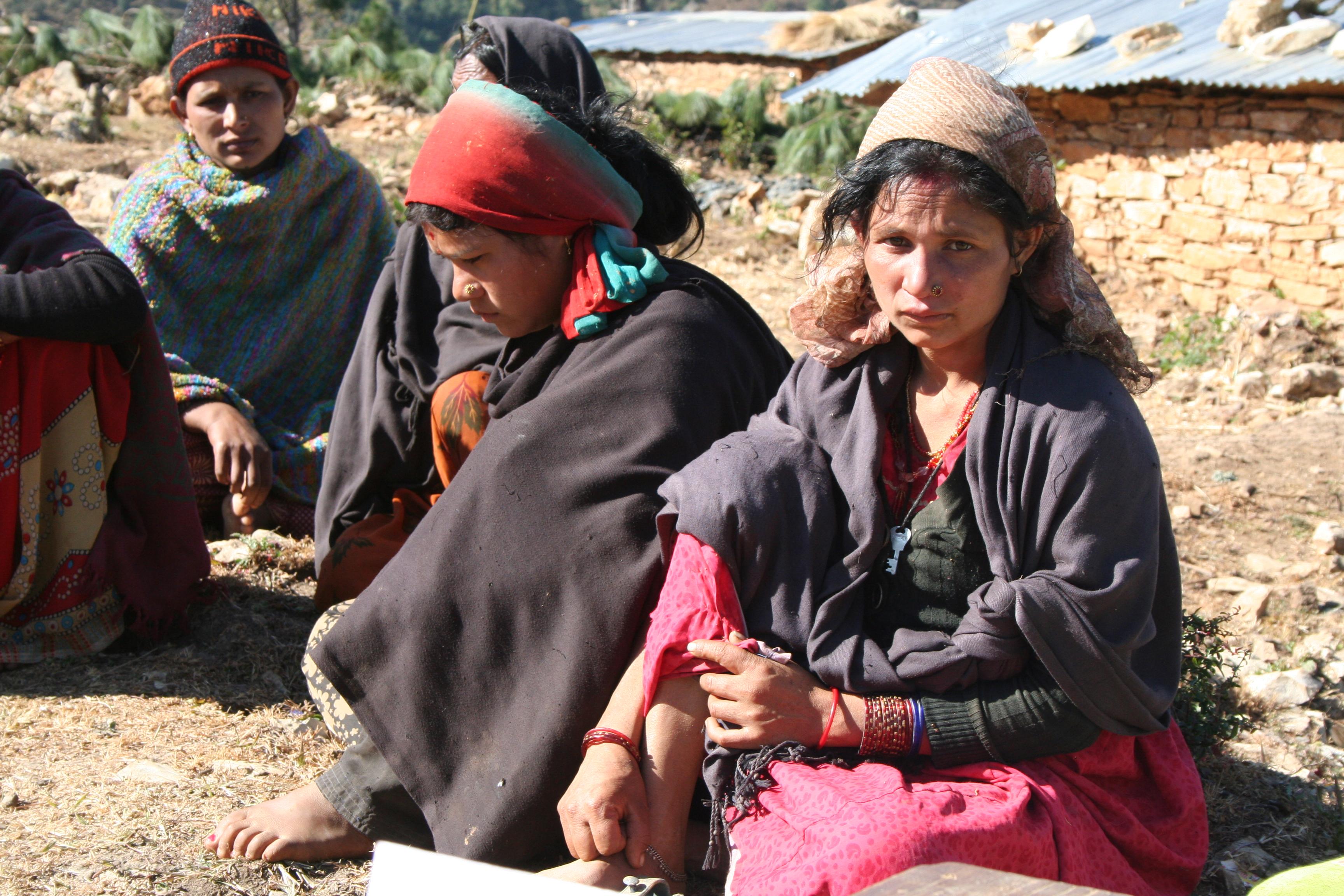 Dalit woman Baitadi