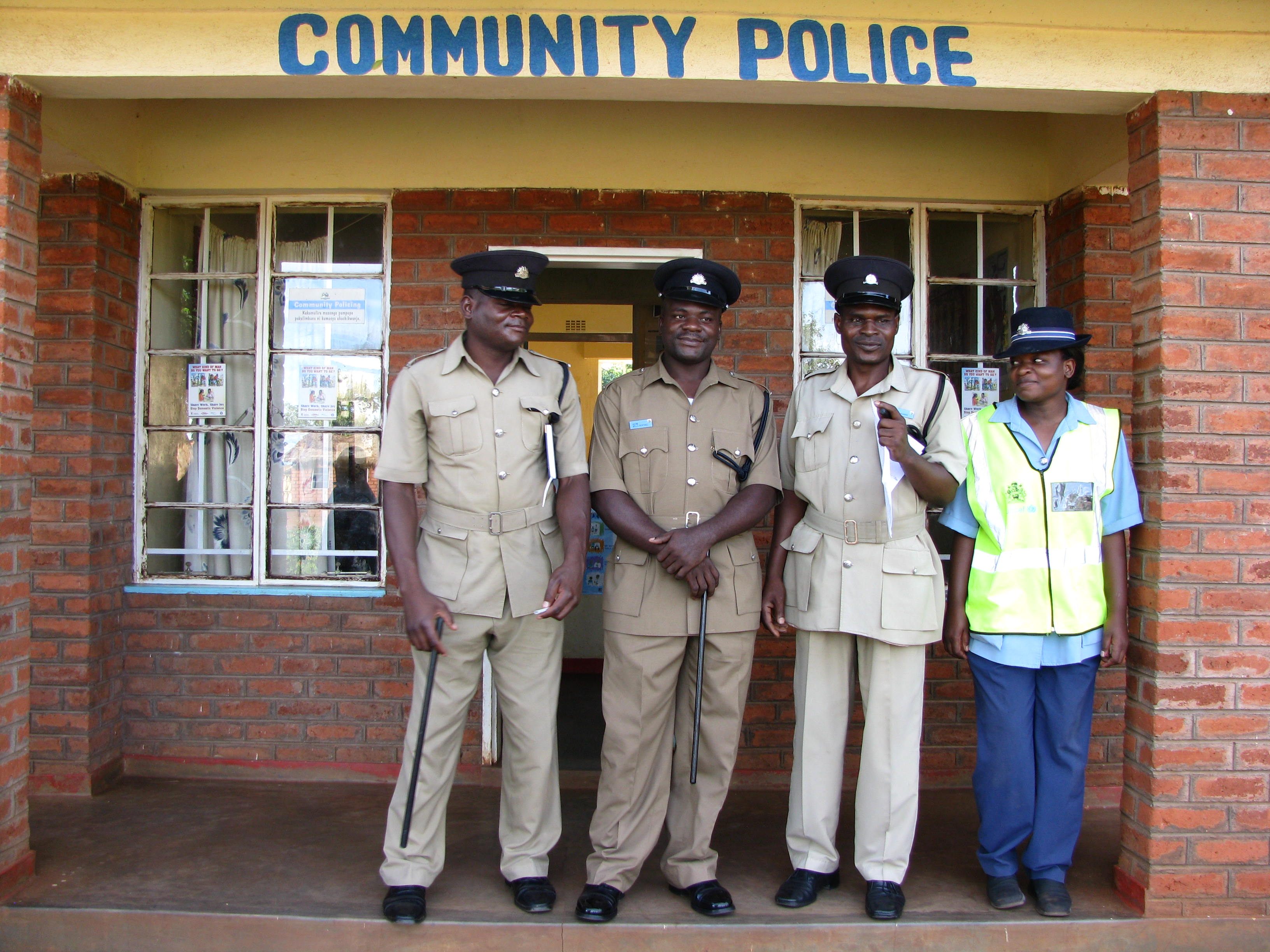 Peace Building Project - Community police Malawi