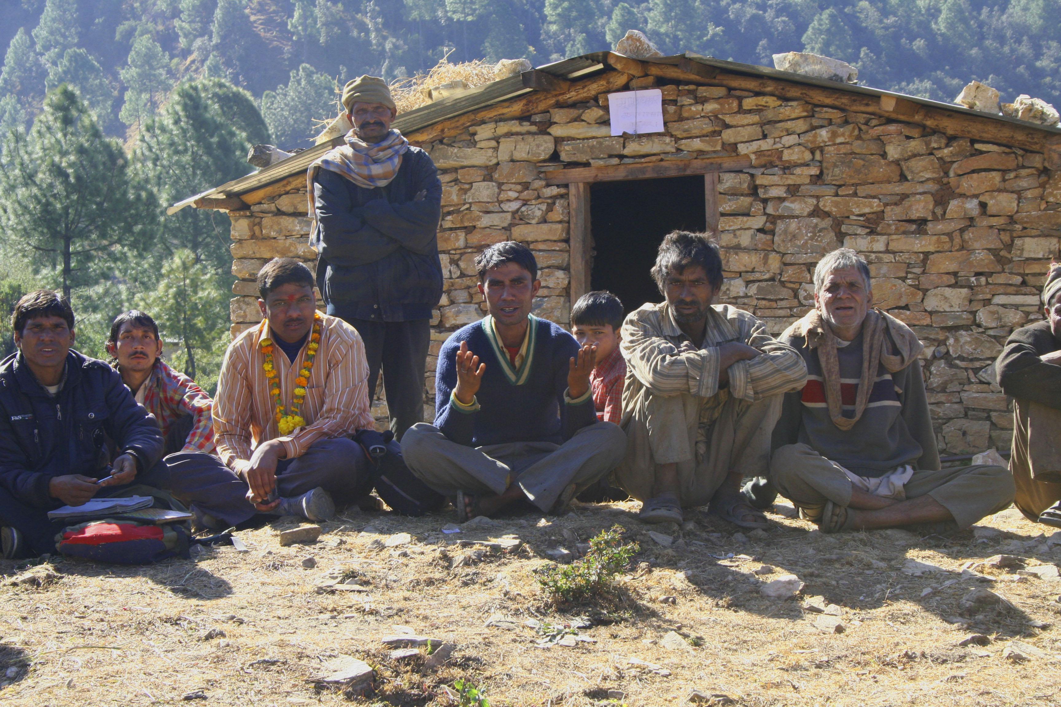 Dalit men in Baitadi