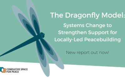 The Dragonfly Model: Systems Change to Strengthen Support for Locally-Led Peacebuilding