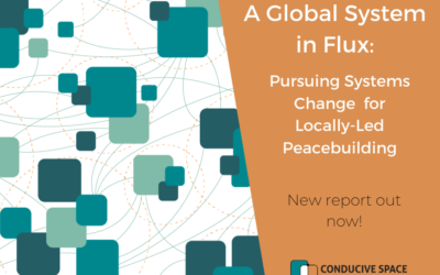 A Global System in Flux: Pursuing Systems Change for Locally-Led Peacebuilding